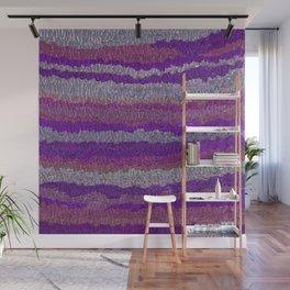 Purple Satin Wall Mural