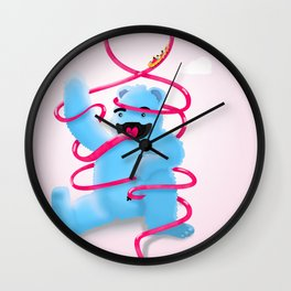 Roller Monster Wall Clock