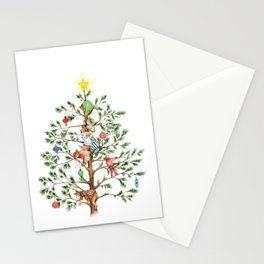 Christmas PJ Bear Cubs Stationery Cards