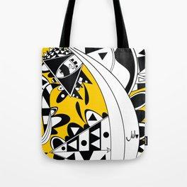 YELLOW TRIANGLE  Tote Bag