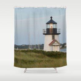 Nantucket Lighthouse Shower Curtain