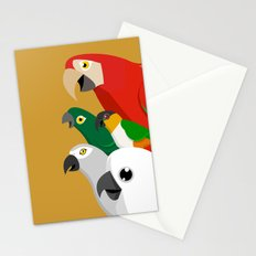 Loud Parrots Stationery Cards
