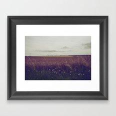 Autumn Field III Framed Art Print