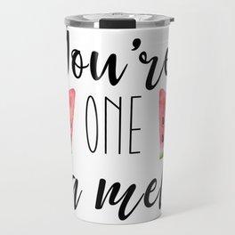 One in a Melon Travel Mug