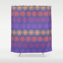Vintage Kaleidoscope Shower Curtain