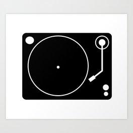 DJ Gear #1 Art Print