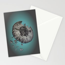 Shattered Time Stationery Cards