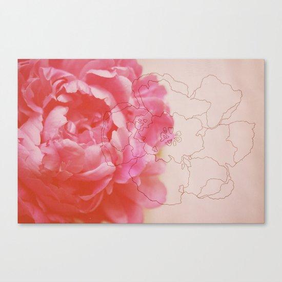 pink milk Canvas Print