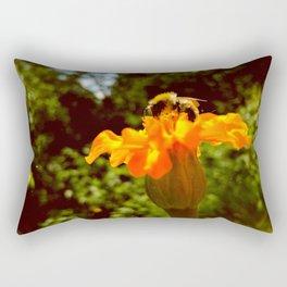 bee of autumn Rectangular Pillow