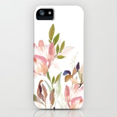 Darling Blooms iPhone SE Slim Case