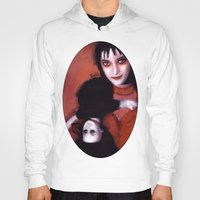 lydia martin Hoodies featuring Lydia Deetz by Rouble Rust