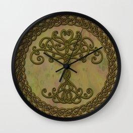 Celtic Tree of Life I Wall Clock