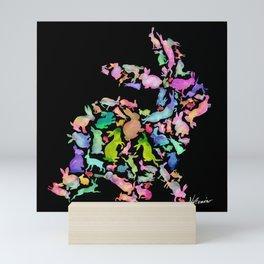 Soul Bunny - Spring Time - Dark Mini Art Print