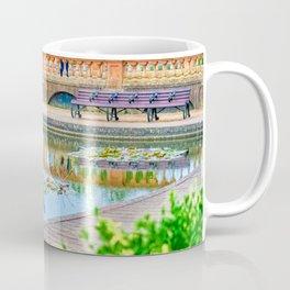 Eaton Park Heron, Norwich, U.K Coffee Mug