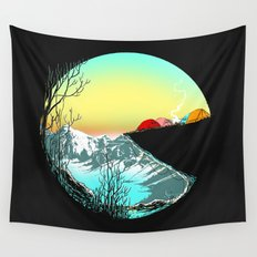 Pac camp Wall Tapestry