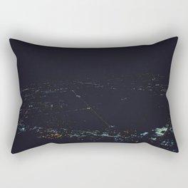 Metro Detroit (From Above) Rectangular Pillow