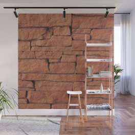"""""""Another brick in the wall"""" 2 Wall Mural"""