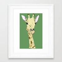 riff raff Framed Art Prints featuring G-raff by caseysplace
