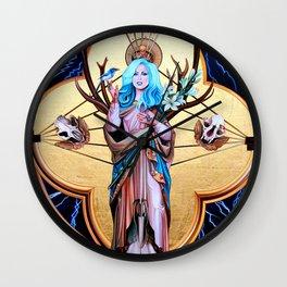 Ecos of Thunder Painting Wall Clock