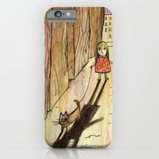 walking the cat Slim Case iPhone 6