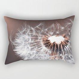 Dandelion Flower Rectangular Pillow