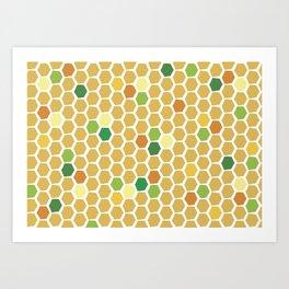 Uh Huh Honey Art Print