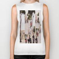 roman Biker Tanks featuring Roman Traffic by Eva Lesko
