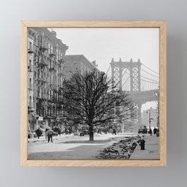 Brooklyn Growth Framed Mini Art Print