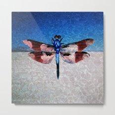 Playa Dragonfly Metal Print