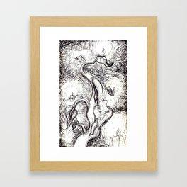 The Candlestick Stalk Framed Art Print