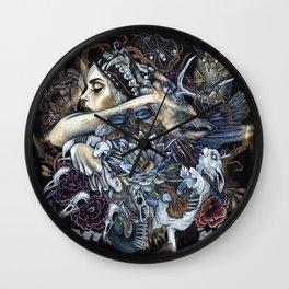 The Hunt Deux Wall Clock