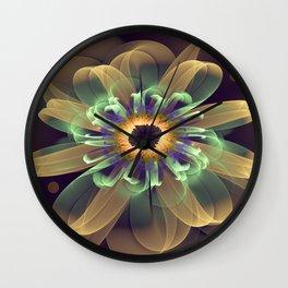 Cosmic Daisy Wall Clock