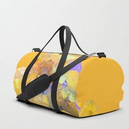 YELLOW QUARTZ CRYSTAL GOLDEN COLOR DESIGN Duffle Bag