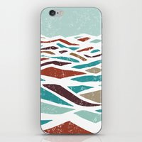 old iPhone & iPod Skins featuring Sea Recollection by Efi Tolia
