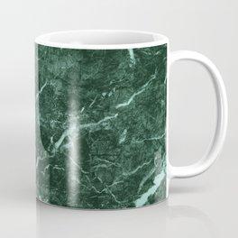 Dark Green Marble texture Coffee Mug