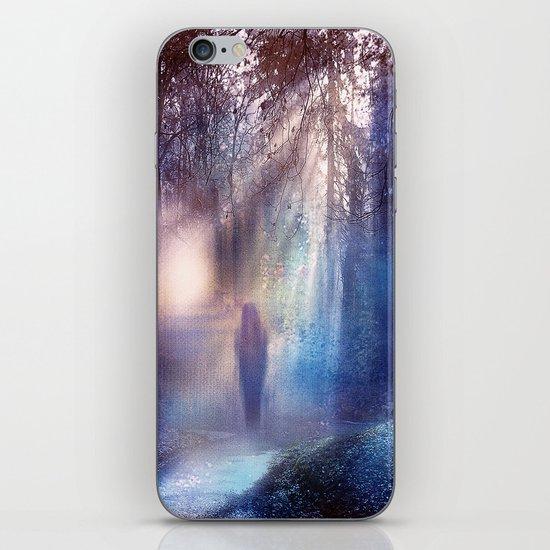 Path lights iPhone & iPod Skin