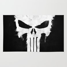 Punisher White Rug