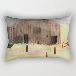 Abandoned Rectangular Pillow