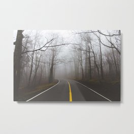 Forgotten Roads Metal Print