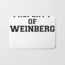 Property of WEINBERG Bath Mat