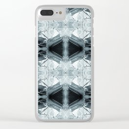 Modul-Textile IV Clear iPhone Case