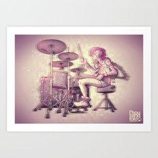 Hitwoman Art Print