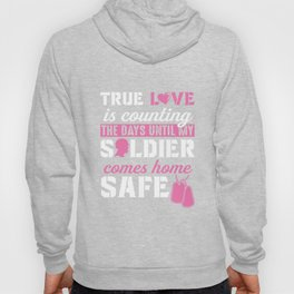 Army Wife and Girlfriend Tshirt - Until My Solider is Safe Hoody