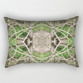 507 - Abstract Forest Design Rectangular Pillow