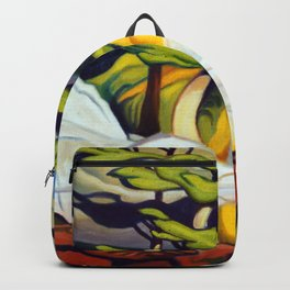 Red Rock Pool by Amanda Martinson Backpack