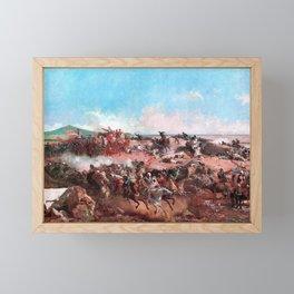 Mariano Fortuny - The Battle Of Tetouan - Digital Remastered Edition Framed Mini Art Print