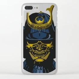 Lone Ronin Clear iPhone Case