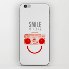 Smile. It Helps. iPhone & iPod Skin