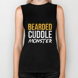 Bearded Cuddle Monster - Funny TShirt Biker Tank