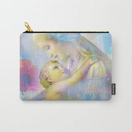 In the Arms of Mary Carry-All Pouch